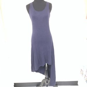 MICHAEL KORS NAVY BLUE ASYMMETRICAL DRESS SIZE XS